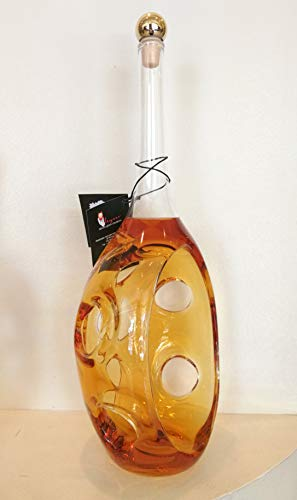 Bottiglia soffiato mano con Cognac Brandy da 100 200 350 ml