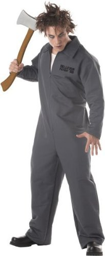 Horror Halloween Karnevall Kostüm Mörder Erwachsene (Mörder Kostüm)