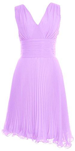 MACloth - Robe - Trapèze - Femme Violet - Lavande