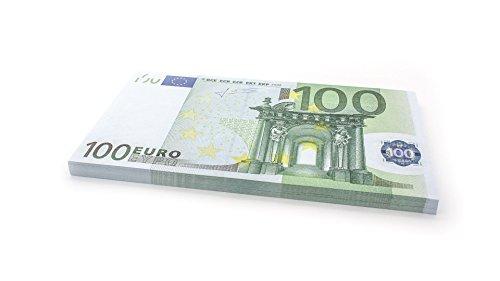 Cashbricks 75 x €100 Euro Spielgeld Scheine - vergrößert - 125{8c326b39606338ea7f5dca7fc82bb81bff1d85c9a06d1392b56ace915ce357f5} Größe