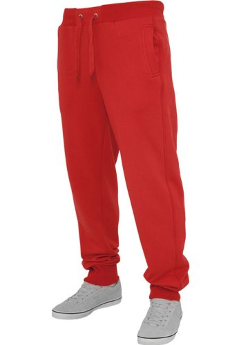 Urban Classics -  Pantaloni sportivi  - Basic - Uomo rosso