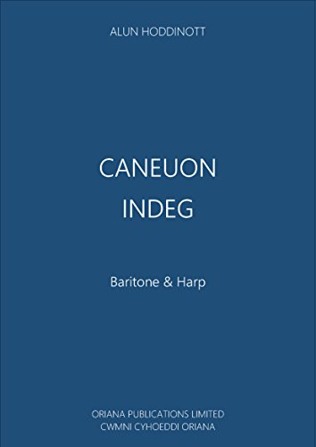 Caneuon Indeg: Songs for Indeg (Welsh Edition)