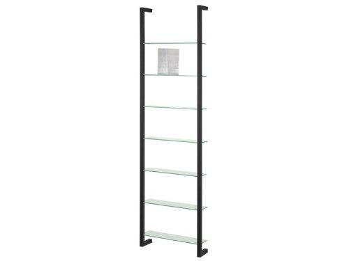 Spinder Design Cubic DVD Wall rack with 7 Shelves - Black