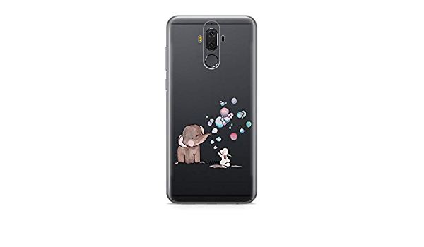 Finoo TPU Handyh/ülle f/ür Dein Huawei Mate 9 Made In Germany H/ülle mit Motiv und Optimalen Schutz Silikon Tasche Case Cover Schutzh/ülle f/ür Dein Huawei Mate 9 Badgirl