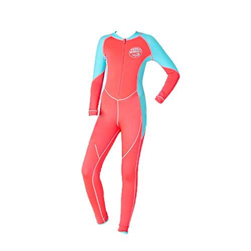 Neoprenanzug Kinder Dasongff Mädchen Kinder Neoprenanzug Neopren Langarm Wärmehaltung Tauchanzug Badeanzug Wetsuit für Wassersport Mehrfarbig