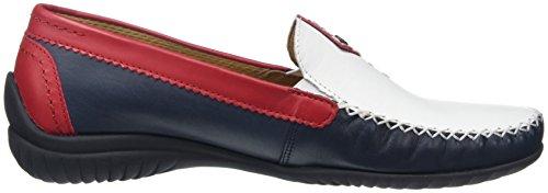 Gabor Shoes Comfort, Mocassini Donna Blu (ocean multic. 68)
