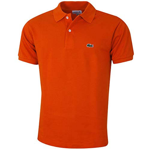 Lacoste L1212 Herren Polo Shirt Kurzarm,Männer Polo-Hemd,2 Knopf,Regular Fit,Casual(X50),X-Large (6) -