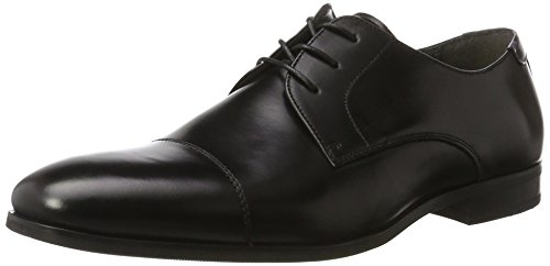 Aldo Herren Badolla Derby Schwarz (97 Black Leather)