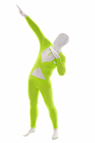 Morphsuits MGTPL - Costume per travestimento, smoking, taglia: M, colore: Verde