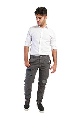 Richfield - Pantalone chinos da uomo classico - RV7542
