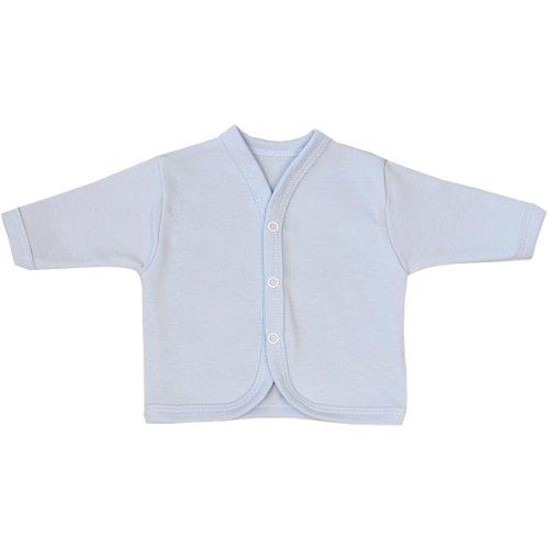 BabyPrem Babykleidung Frühchen - 6 Monate Strickjäckchen Pullover Baby BLAU NB