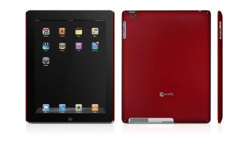 Macally Snap-2MR Schutzhülle für Apple iPad 2 metallisch rot -