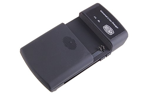 Bilora 593-A LED Li-ION Charger Kompaktes Universal-Ladegerät für fast alle Li-Ionen-Akkus sowie für Handy-Akkus
