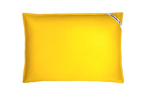 Jumbo Bag 30070-40 Pouf Flottant Polyester Jaune 170 x 130 x 30 cm