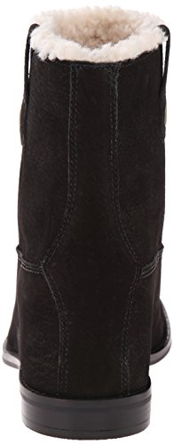 Cole Haan Zillie Wp Shearling Bootie Winter Boot Black Leather/Shearling
