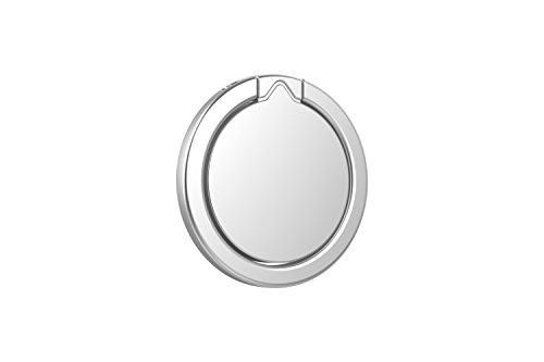 Kronya® | 360° drehbarer Smartphone Fingerhalter | Auto Finger Fitness Griff Halter Halterung Handy Ring Ringhalter Sport Ständer Tablet Apple iPhone iPad 7 8 10 X Samsung Galaxy S8 4 (Silber) - 6