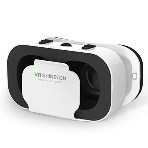 Virtual Reality Headset, 3D Virtual Reality Brille Einstellbare Dual Lens Brennweite 360   ° Panorama 3D Betrachtungswinkel für Schlafzimmer, Gaming Entertainment, Büro