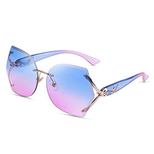 62debfd71b Alvndarling Protección UV Gafas polígono para Mujer a Juego/Gafas de Sol  para Exterior Anti