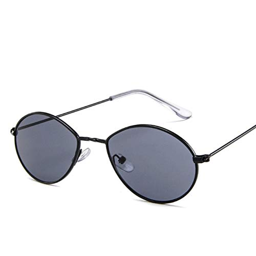 NNGETUI Vintage Black Goggles Luxusmarke Designer Frauen Männer SonnenbrillenBrillen Retro Mode Gelb Damen Tear Drop Round