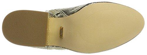 Buffalo Damen 416-6358 Metallic Snake Pu Stiefel Gold (gold 01)