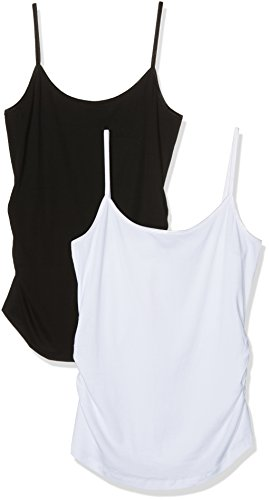 New Look Maternity Women's Two Pack Shoestring Vest Top Test