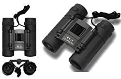 WAVE SHOP Compact Comet Binocular 10x25 With Powerful Lens 101 to 1000m Vision