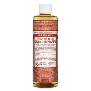 Dr.Bronner's Savon pur végétal eucalyptus 240ml -