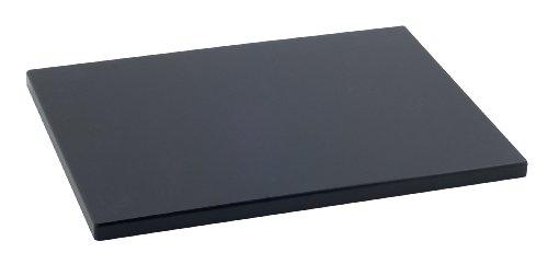 Metaltex -  Tabla de cocina, Polietileno, Negro, 38 x 28 x 1,5 cm