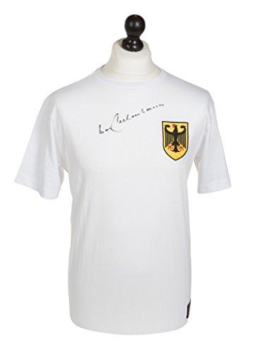 Franz-Beckenbauer-Signed-Shirt-Autograph-Germany-Retro-5-Jersey-Memorabilia-COA