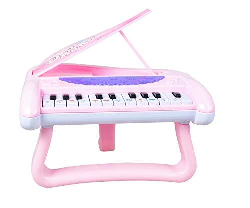 yyyff Piano électronique pour Enfants Piano Jouets éducatifs pour Enfants Jouets éducatifs Fille 0-1-3 Ans Infantile bébé Piano garçon Princesse Poudre