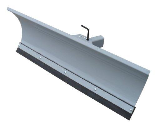 Universal Schneeschild / Hochwertig silber pulverbeschichtet / Breite: 100 cm - Höhe 40cm / Für Einachser Rasentraktor Quad Atv