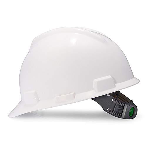 TKTTBD Einstellbarer Schutzhelm für Erwachsene,Professionell Arbeitshelm,Bauhelm mit 4-Punkt-Aufhängung, Schutzhelm ideal für die Baustelle oder Handwerker,EN (Professionelle Erwachsene Kostüme)