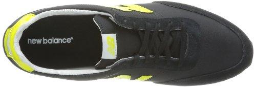 New Balance  S410 B,  Sneaker donna Nero (Noir (Stkg Black/Yellow))