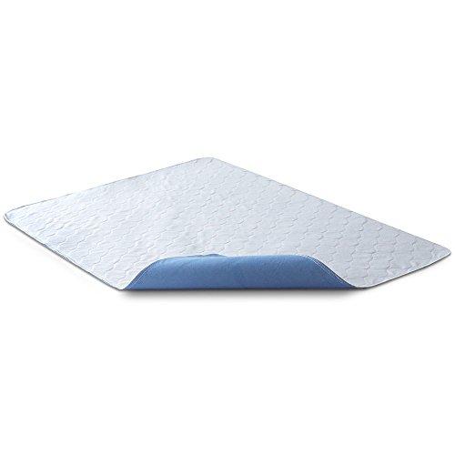Bedecor® Wasserdichte Waschbare saugfähige Inkontinenz Unterlage 70x90 cm, Wasserdichte Inkontinenz Matratzenauflage mit Oeko-Tex Siegel Bild groß