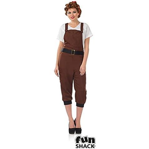 1940 Terra Girl - Adult Costume -
