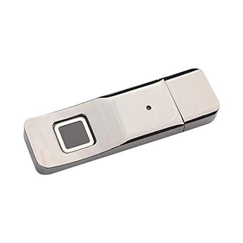 USB 32 Go Clé USB 3.0 Disque Flash U Cryptage D'empreinte Digitale Reconnaissance Grande Vitesse Mémoire Cryptée Par Empreinte Digitale Clé USB Métal Luxe Sécurité Des Données Professionnelles