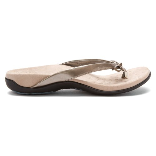 Vionic Womens Bella Synthetic Sandals Pewter