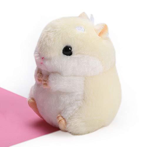 Crazywind Hamster Plüsch Puppe Anhänger Tier Spielzeug für Kinder Erwachsene Zuhause Tasche Dekoration Ornament Neu