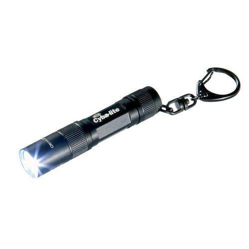 Ring Cyba-Lite Lightstar Led-Taschenlampe mit Schlüsselring, Schwarz