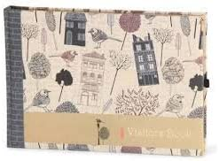 Nightingale visitor notebook A4 size cloth classic printing