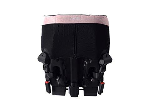 Axkid Minikid 2.0 Kindersitz Reboarder 0-25KG Ohne Isofix Inkl. Sitzverkleinerer Seitenaufprallschutz (rosa)