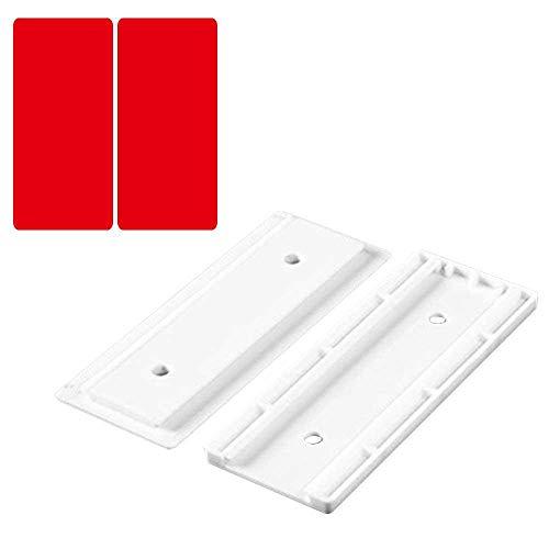 leegoal Mehrfachsteckdosen Selbstklebende Steckdosenleiste zur Montage von Gegenständen bis 5kg - Wieder ablösbar - Outlet-rack Power Strip