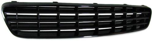 ver modelos de veh/ículos compatibles en la descripci/ón Rejilla frontal sport sin hueco para emblema color negro Parrilla de calandra delantera deportiva lisa sin logotipo negra