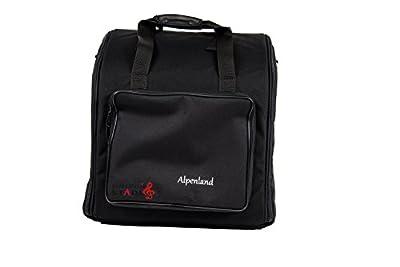 Alpenland Steirische Harmonika Tasche Rucksack DELUXE für 5-reihige Harmonikas