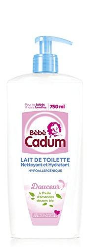 Bébé Cadum - Hygiène et Soin Bébé - Lait Toilette - Pompe - 750 ml