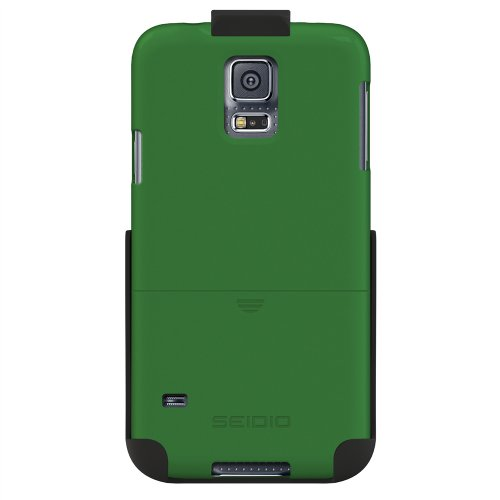 Seidio BD2-HR3SSGS5-SH Surface Hülle Combo für Samsung Galaxy S5 grün - Seidio Holster-design