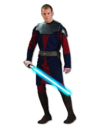 Horror-Shop Star Wars Anakin Skywalker Deluxe Kostüm für Fasching & Halloween Standard (Anakin Skywalker Deluxe Kostüm)