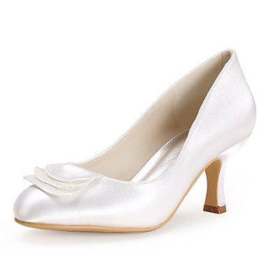 Wuyulunbi@ Nozze In Raso Stiletto Heel Pompe Scarpe Tacchi(Più Colori) US8 / EU39 / UK6 / CN39