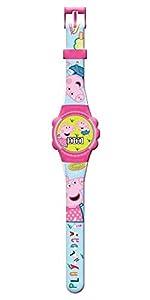 Peppa Pig- Reloj de Pulsera analogico en Caja con Ventana (PP17005), (Kids Licensing 1)