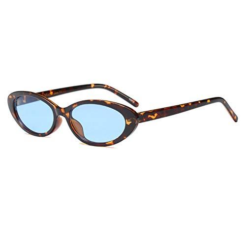 SUNNYJ Sonnenbrille Mode Chic Sonnenbrillen Frauen Trend Coole Persönlichkeit Kleine Rahmen Schwarze Brille Ovale Sonnenbrille 4